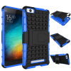 MOONCASE шин Текстура Hybrid Kickstand PC + TPU Полное Прочный защитный 2 в 1 чехол для Xiaomi 4i m4i Mi4i ( 5.0) flash powder painted colorful tpu phone case for iphone 7 8