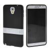 MOONCASE Мягкие гибкие силиконовый гель ТПУ кожи с Kickstand чехол для Samsung Galaxy Note 3 Neo N7505 Черный чехол книжка platinum для samsung galaxy note 3 черный