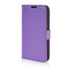 MOONCASE High quality Leather Wallet Flip Card Slot Pouch Stand Shell Back ЧЕХОЛ ДЛЯ LG G2 Mini Purple mooncase high quality leather wallet flip card slot pouch stand shell back чехол для lg l80 brown