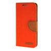 MOONCASE Galaxy S6 Edge , Leather Flip Wallet Card Holder Pouch Stand Back ЧЕХОЛ ДЛЯ Samsung Galaxy S6 Edge Orange