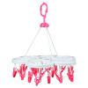 [Супермаркет] Джингдонг Йи Shun пластиковый зажим 24 сушки стеллажи творческие / длинные носки сушки стеллажи клип SY531