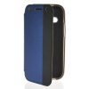 MOONCASE Mixed colors Leather Side Flip Wallet Card Pouch Stand Soft Shell Back чехол для Htc One Mini 2 ( M8 Mini ) Blue htc hc v941 чехол для one m8 blue