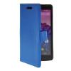 MOONCASE тонкий кожаный бумажник флип сторона держателя карты Чехол с Kickstand чехол для LG Google Nexus 5 Голубой