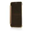MOONCASE Soft Silicone Gel + Side Flip Pouch Hard Shell Back ЧЕХОЛДЛЯ Samsung Galaxy S6 Brown чехол для гитары gibson hard shell case flying v historic brown