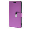 MOONCASE чехол для Sony Xperia Z3 Flip Leather Wallet Card Slot Bracket Back Cover Purple sony xperia m в спб purple