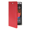 MOONCASE Slim Leather Flip Wallet Card Pouch with Kickstand Shell Back ЧЕХОЛ ДЛЯ HTC Desire 616 Red htc desire 650