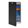 MOONCASE Slim Leather Side Flip Wallet Card Slot Pouch with Kickstand Shell Back чехол для Huawei Ascend G7 Black ecostyle shell чехол флип для huawei ascend d2 black