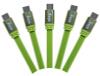 Кабель Ainy FA-047H Micro USB зеленый цена и фото
