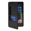 MOONCASE View Window Leather Side Flip Pouch Hard board Shell Back чехол для Nokia Lumia 820 Black