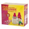 цена на Лэм Джу Бао Джиан ребенок мягкий фруктовый электрический комаров жидкость две бутылки комаров жидкость Малыши ребенка электрический комаров жидкости