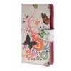 MOONCASE Butterfly style Leather Wallet Flip Card Slot Stand Pouch чехол для Microsoft Lumia 430 A02 luxury stand flip