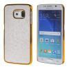 MOONCASE Золото Chrome Шкала фильмы стиль Твердый переплет чехол для Samsung Galaxy S6 Edge белый mooncase galaxy s4 дело золото chrome шкала фильмы стиль твердый переплет чехол для samsung galaxy i9500 s4 черный