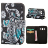 MOONCASE ЧЕХОЛДЛЯ Samsung Galaxy Core Prime G360 Flip Leather Foldable Stand Feature [Pattern series] /a15 чехол для samsung galaxy core gt i8262