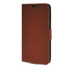 MOONCASE High quality Leather Side Flip Card Slot Pouch Stand Shell Back ЧЕХОЛДЛЯ Samsung Galaxy Grand 2 G7106 Brown mooncase high quality leather wallet flip card slot pouch stand shell back чехолдля lg l80 brown