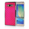 MOONCASE Hard Chrome Plated Star Bling Back ЧЕХОЛДЛЯ Samsung Galaxy A7 Hot pink диски helo he844 chrome plated r20