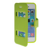 MOONCASE View Window Leather Side Flip Pouch Stand Shell Back ЧЕХОЛ ДЛЯ Apple iPhone 5C Green roar korea noble leather stand view window case for iphone 7 4 7 inch orange