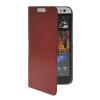 MOONCASE тонкий кожаный бумажник флип сторона держателя карты Чехол с Kickstand чехол для HTC Desire 616 Коричневый panasonic kx tg8061 rub dect телефон