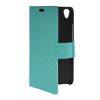 MOONCASE Slim Leather Side Flip Wallet Card Slot Pouch with Kickstand Shell Back чехол для Huawei Honor 4 Play Mint Green mooncase чехол для huawei ascend p8 wallet card slot with kickstand flip leather back white