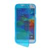 MOONCASE Flip Wallet Soft Gel TPU Silicone Back Shell ЧЕХОЛДЛЯ Samsung Galaxy S5 I9600 Blue mooncase flip wallet soft gel tpu silicone back shell чехолдля samsung galaxy s5 i9600 grey