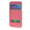 MOONCASE Samsung Galaxy S5 I9600 чехол для View Slim Leather Flip Pouch Bracket Back Cover Pink mooncase samsung galaxy a7 чехол для view leather flip pouch bracket back cover pink
