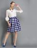 Lovaru ™ 2014 новый зимней моды плед большие талии юбки пачки юбки высокого качества моды юбки женщин