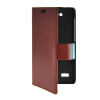 MOONCASE Slim Leather Side Flip Wallet Card Slot Pouch with Kickstand Shell Back чехол для Huawei Honor Holly Brown mooncase slim leather side flip wallet card slot pouch with kickstand shell back чехол для huawei ascend g7 purple