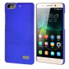 MOONCASE Huawei 4C Футляр Прорезиненные Резина Вернуться чехол для Huawei Honor 4C синий