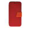 MOONCASE Ultra Slim Leather Side Flip Wallet Stand Pouch ЧЕХОЛ ДЛЯ Samsung Galaxy S6 Red ultra slim clear phone cases for samsung galaxy s6
