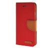 MOONCASE iPhone 6 4.7 , Leather Flip Wallet Card Holder Pouch Stand Back ЧЕХОЛ ДЛЯ Apple iPhone 6 ( 4.7 inch ) Red jeans cloth card holder stand pu leather shell for iphone 6s 6 4 7 inch pink