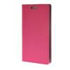 MOONCASE кожаный бумажник Слот карты флип чехол Чехол Подставка чехол для Samsung Galaxy S6 Edge ярко-розовый mooncase чехол