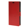 MOONCASE Smooth PU Leather Flip Wallet Card Slot Bracket Back чехол для Samsung Galaxy J5 Red