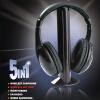 5 В 1 HiFi Беспроводные гарнитуры монитор FM-радио MP3 ПК ТВ Аудио мобильных телефонов монитор пк