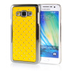 MOONCASE Hard Chrome Plated Star Bling Back ЧЕХОЛ ДЛЯ Samsung Galaxy A3 Yellow mooncase litchi skin золото chrome hard back чехол для cover lg g4 золото