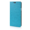 MOONCASE Leather Side Flip Wallet Card Slot Pouch Stand Shell Back ЧЕХОЛ ДЛЯ Samsung Galaxy E5 Blue mooncase soft silicone gel side flip pouch hard shell back чехол для samsung galaxy s6 grey