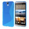 MOONCASE S - линия Мягкий силиконовый гель ТПУ защитный чехол гибкой оболочки Защитный чехол для HTC One E9 + E9 Plus синий