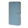 MOONCASE Ultra thin matte surface Leather Wallet Flip Card Slot Holster Pouch Stand Back чехол для Sony Xperia E4G Blue