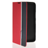 MOONCASE Business style Leather Side Flip Wallet Card Slot Pouch Stand Back чехол для Nokia Lumia 1320 Red