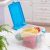 [супермаркет] Длинные Шида LONGSTAR Jingdong кухни зерновые бочки м бочки пластиковые прозрачной коробке хранения 6L голубой LJ-0120