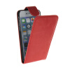 MOONCASE Smooth skin Leather Bottom Flip Pouch ЧЕХОЛДЛЯ Apple iPhone 6 ( 4.7 inch ) Red аксессуар чехол apple iphone se leather case red mr622zm a