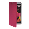 MOONCASE Slim Leather Side Flip Wallet Card Slot Pouch with Kickstand Shell Back чехол для HTC Desire Eye Hot pink htc desire 650