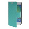 MOONCASE Slim Leather Side Flip Wallet Card Slot Pouch with Kickstand Shell Back чехол для Samsung Galaxy A3 Mint Green синий slim robot armor kickstand ударопрочный жесткий корпус из прочной резины для vivo x9plus