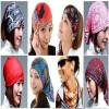 новые 3pcs модных аксессуаров для волос голову платком лоб Bandana шарф наборы аксессуаров для волос esli комплект аксессуаров для волос light yellow