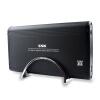 Ван Бяо (ССК) SHE053 звездно 3,5 дюйма USB2.0 HDD Enclosure SATA / IDE интерфейс поддерживает двойной настольный жесткий диск (черный) 1pc черный usb 2 0 для ide sata 2 5 3 5 hdd жесткий диск адаптер конвертера кабеля
