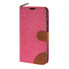 MOONCASE Moto X+1 , Leather Wallet Flip Card Holder Pouch Stand Back ЧЕХОЛ ДЛЯ Motorola Moto X+1 Hot pink xydyy new 4designs bear monkey pig 10cm hand plush coin purse wallet pouch women lady s coin bags pouch holder bag handbag