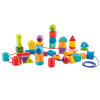 Германия Hape замечательные бисерные жемчуги E8305 Просвещение интеллектуальной головоломка блоки игрушка для детей старше 3 лет универсальны игры настольные игры hape игрушка паллина