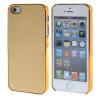 MOONCASE Litchi Skin золото Chrome Hard Back чехол для Cover Apple iPhone 5 / 5G / 5S золото mooncase litchi skin золото chrome hard back чехол для cover samsung galaxy s6 edge золото