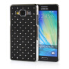 MOONCASE Hard Chrome Plated Star Bling Back ЧЕХОЛ ДЛЯ Samsung Galaxy A5 Black mooncase hard chrome plated star bling back чехол для huawei ascend y550 green