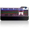 Black MG (Ajazz) ассасин свет смешивания полноцветную версию сплава механических клавиш клавиатуры Бирюзовый вал 107 назад офисный компьютер игровой ноутбук клавиатуры
