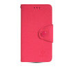 MOONCASE Classic cross pattern Leather Side Flip Slot Pouch Stand Shell Back ЧЕХОЛ ДЛЯ Samsung Galaxy S5 Mini Hot pink promate akton s5 чехол накладка для samsung galaxy s5 black