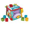 Fisher-Price  многофункциональный игрушка для раннего обучения Шестигранная коробка (двуязычный) CMY28 fisher price fisher розовый кролик многофункциональный портативный качалка drd28